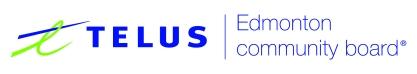 TELUS_Community_Board_Edmonton_Logo